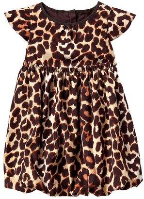 Gap Leopard cord dress