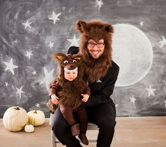 Pottery Barn Kids Werewolf Family Costume