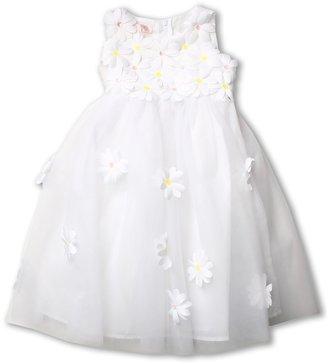 Biscotti Daisy Ballerina Dress (Toddler) (White) - Apparel