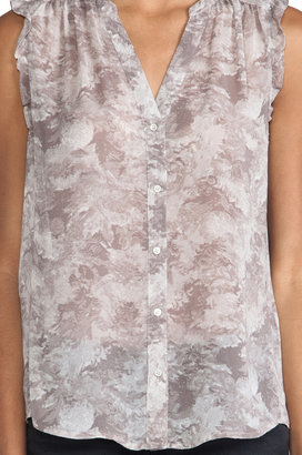 Joie Fayanna Printed Silk Top