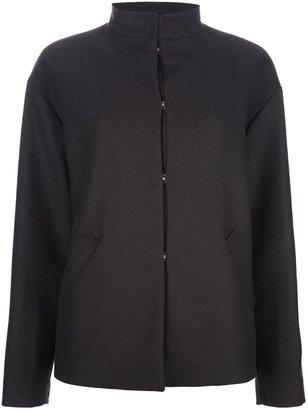 Balmain Pierre high collar coat