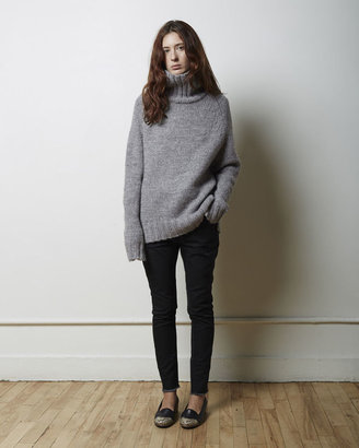 Moderne Didion Chunky Turtleneck $450 thestylecure.com