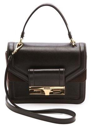 Moschino Leather Cross Body Bag