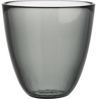 Crate & Barrel Joey Pewter Beverage Glass
