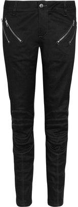 Lot 78 Lot78 Paneled mid-rise skinny jeans
