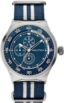Nautica Unisex N14668G NST 17 Multi Function Watch $145 thestylecure.com