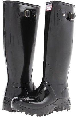 Hunter Original Gloss Snow Boot (Black) - Footwear