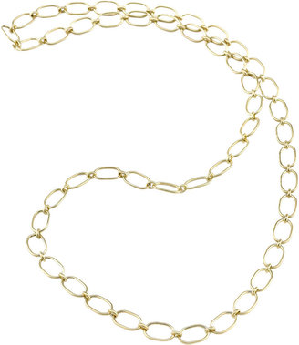 Irene Neuwirth Gold Large Link Chain Necklace