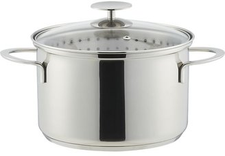 Crate & Barrel Stainless Cookware by Berndes Vegetable Steamer. 4 qt.
