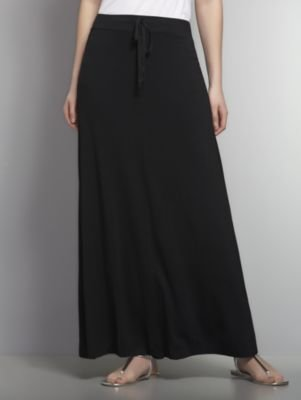 New York & Co. Love NY&C Collection - Drawstring Maxi Skirt