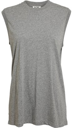 Acne 'Zone Generic' Cotton Tank Top