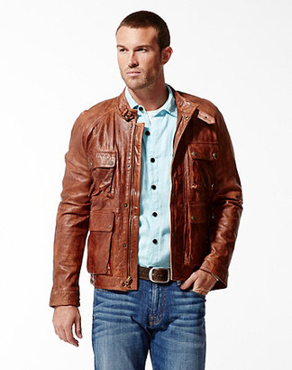 Lucky Brand Bronson Leather Jacket
