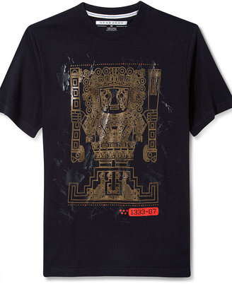 Sean John Big and Tall Shirt, Living On A Prayer Graphic T Shirt