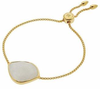 Monica Vinader Gold Vermeil Siren Moonstone Nugget Chain Cocktail Friendship Bracelet