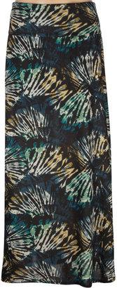 Full Tilt Floral Print Maxi Skirt
