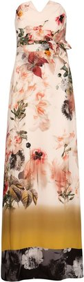 Ted Baker Aymay opulent bloom print maxi dress