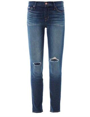 J Brand 835 Capri mid-rise cropped skinny jeans