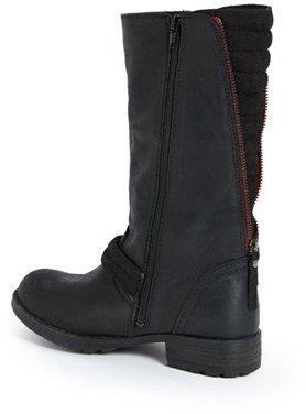 Steve Madden 'Momentim' Leather Moto Boot