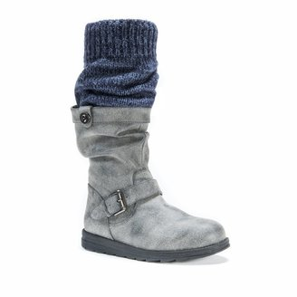 Muk Luks Women's Sky Knit Cuff Boot