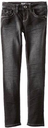 YMI Jeanswear Kids Girls 7-16 Rhinestone Skinny Jean