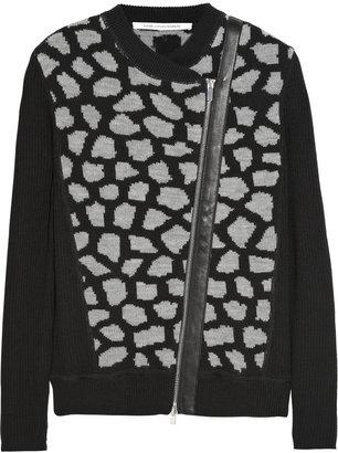 Diane von Furstenberg Harper wool cardigan