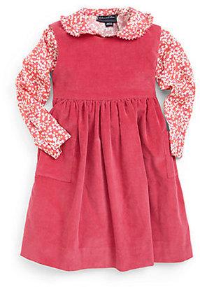 Oscar de la Renta Toddler's & Little Girl's Corduroy Pinafore Dress