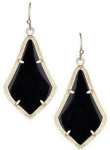 Kendra Scott Alex Rose Quartz Earrings, Rose $55 thestylecure.com