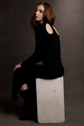 LnA Open Shoulder Dress in Black