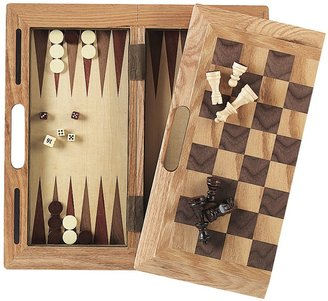 Mainstreet Classics 3-in-1 Wooden Game Set