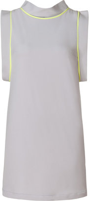 Camilla And Marc Silver/Lime Revolution Dress