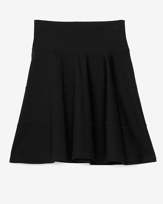 Robert Rodriguez Exclusive Seamed Techno Fit & Flare Skirt