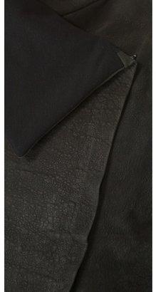 Donna Karan Jersey Lined Zip Bolero