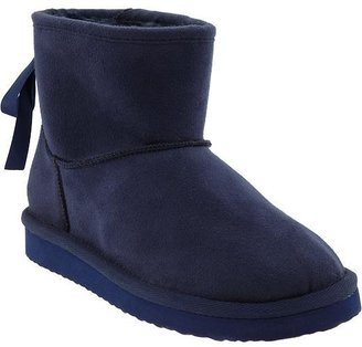 Old Navy Girls Faux-Suede Short Boots