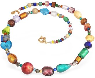 Antica Murrina Fanny - Multicolor Murano Glass Bead Necklace $178 thestylecure.com
