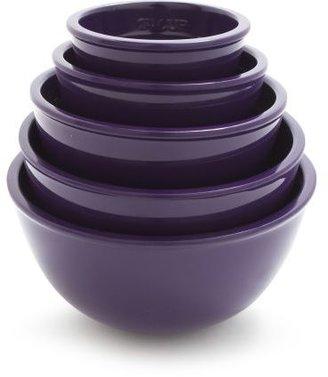 Sur La Table Purple Prep Bowls, Set of 5