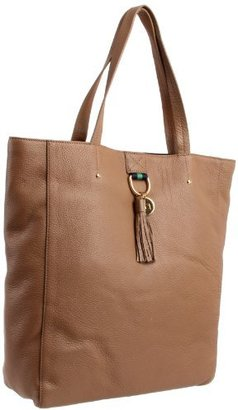 Tommy Hilfiger Tasseled Pebble North-South Tote