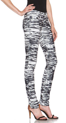 Etoile Isabel Marant Iti Skinny Pant in Tiger Anthracite