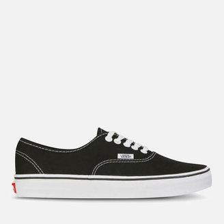 Vans Authentic Canvas Trainers - Black/White