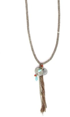 Athleta Sequin Tassel Necklace by Chan Luu