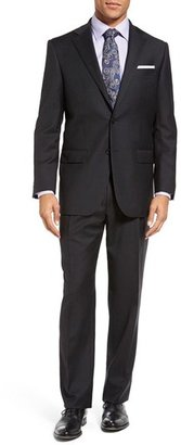Men's Hart Schaffner Marx Chicago Classic Fit Solid Wool Suit $695 thestylecure.com
