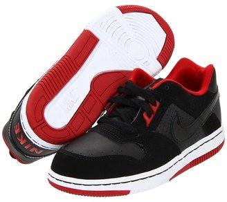 Nike Delta Force Low (Little Kid) (Black/Varsity Red/Black) - Footwear