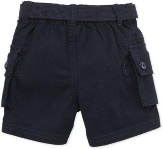 Ralph Lauren Plaid Shirt & Cargo Shorts Set, 9-24 Months