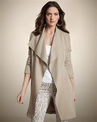 Chico's Cascade Duster Jacket