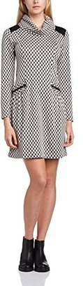 James Lakeland Women's Dress with Pockets and Cowl Neck