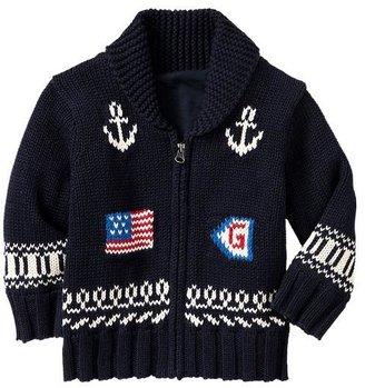 Gap Nautical intarsia sweater