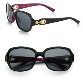 Christian Dior Diorissimo Rectangular Sunglasses
