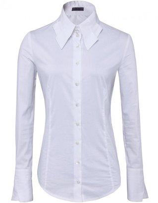 Women's She's So Pleat Collar Shirt