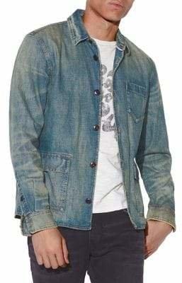 John Varvatos Darren Star Sport Denim Worker Shirt