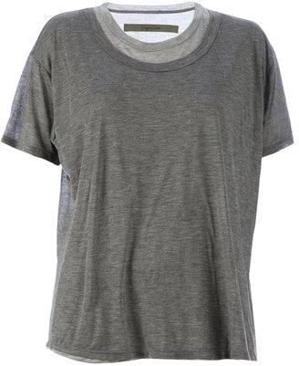 Enza Costa layered t-shirt