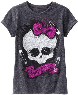 Monster high skull tee - girls 7-16